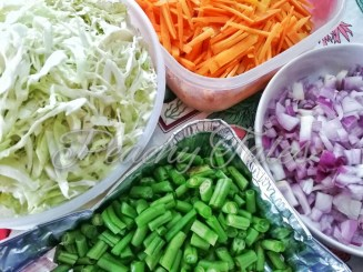Prep of the Vegetables