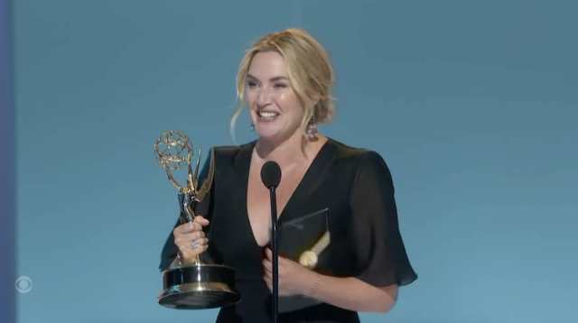 Kate Winslet from Mare of Easttown at the 2021 Emmy Awards