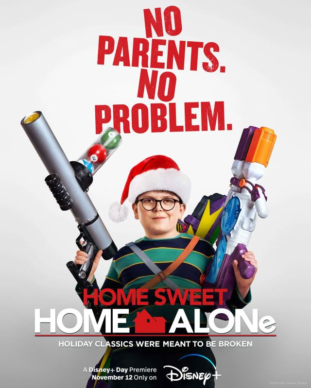 Home Sweet Home Alone - Official Poster