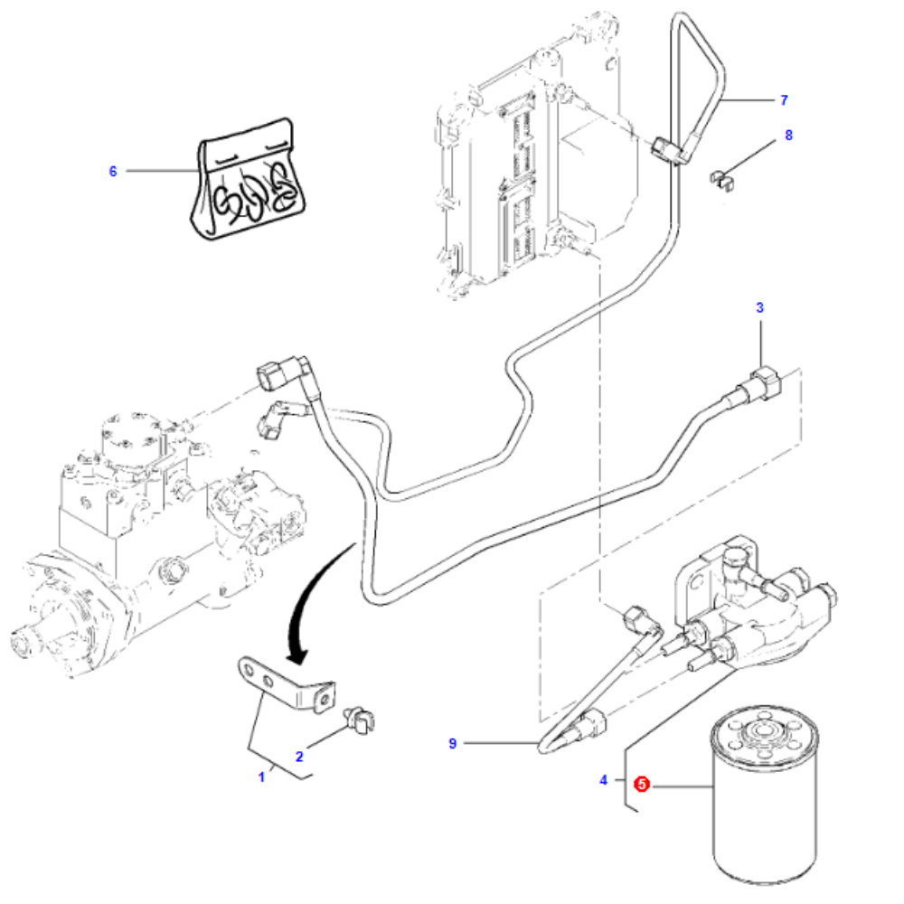 Massey Ferguson Fuel Filter Housing Auto Electrical Wiring Diagram Filters Related With