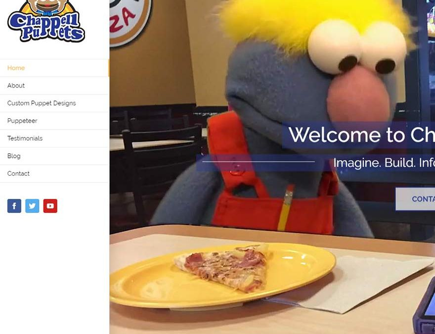 Chappell Puppets Website Design
