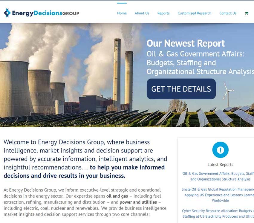 EDC Website Design