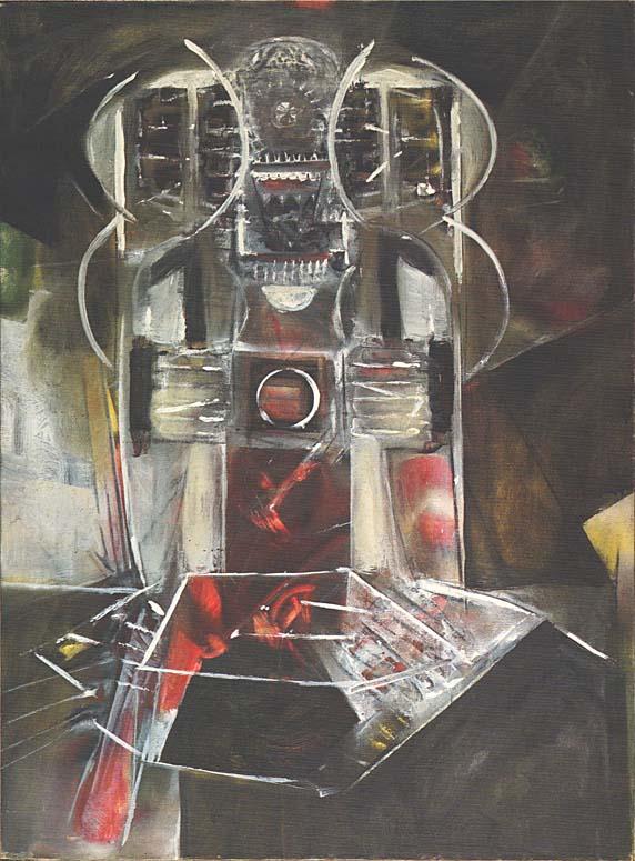 Roberto Matta Echaurren, Violent Indéfinissable, 1950