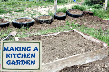 Making a kitchen garden