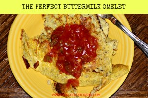 The Perfect Buttermilk Omelet
