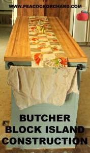 butcher-block-island-construction