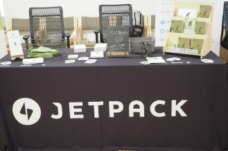 Jetpack booth