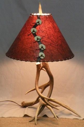 Moose Floor Lamp Moose elk antler floor lamp large handmade real antler 101 s mule deer antler table lamp audiocablefo