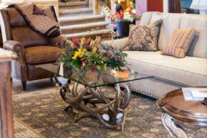 710 elk antler coffee table antler table