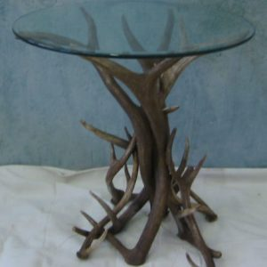 720 mule deer end table