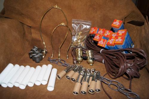 1003 antler chandelier kit Electrical Kit to Make an Antler Chandelier