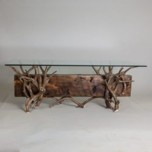 Mule Deer Antler Coffee Table Mountain Modern