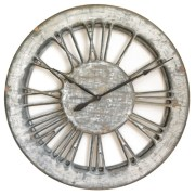 Skeleton Roman Numeral Large Wall Clock Handmade 100cm