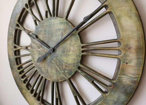 Very Large Modern Wall Clocks Handmade 100 Cm Diameter