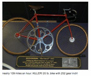 big ring bikes