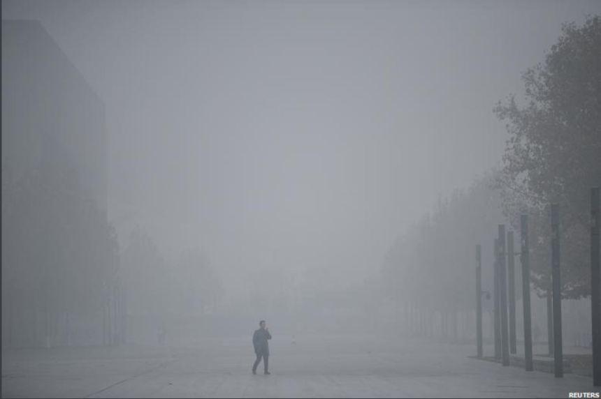 Smog in Tianjin