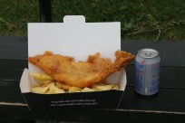 Our small serve of fish n chips