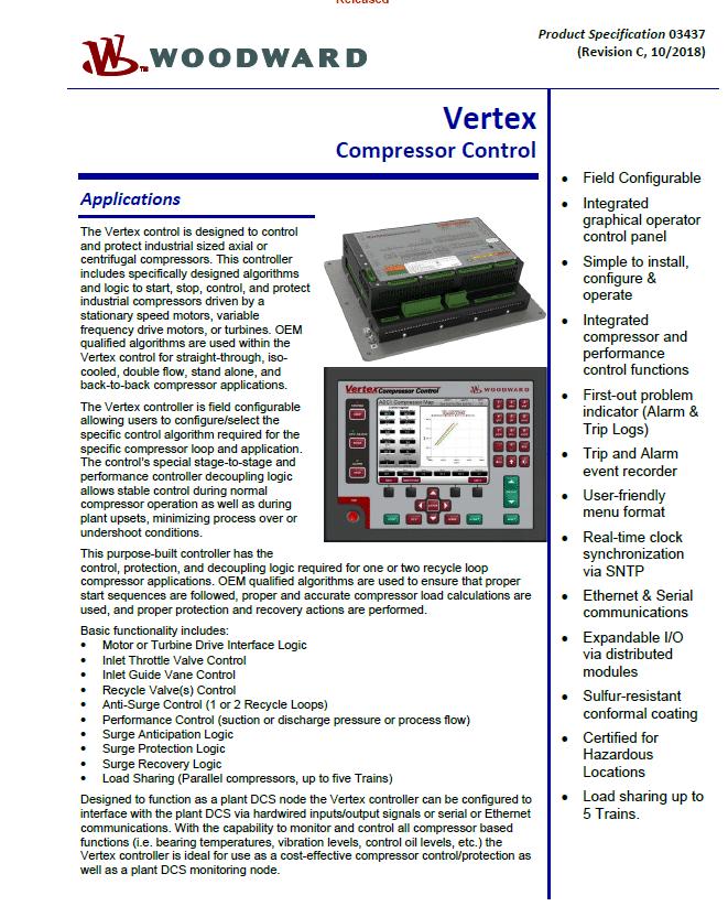 Vertex Compress Control Brochure
