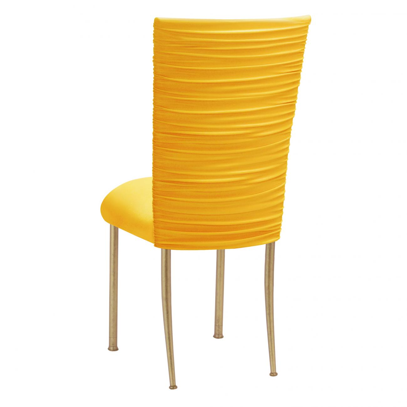 Yellow Chair Covers Stretch Knit Fanfare Chameleon Chair Covers Peak Event Services