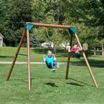 Wooden Swing Sets Under Guide - Peak Health Pro
