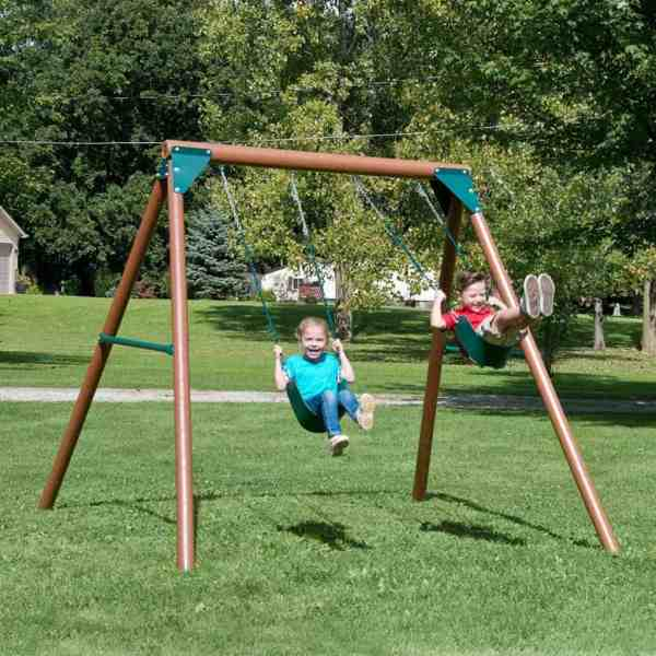 Wooden Swing Sets Under Guide - Peak Health Pro