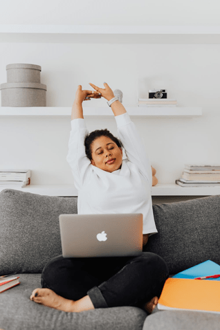What to do to keep your back healthy while working from home