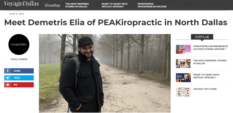 Check out how PEAKiropractic was born and how it will grow to provide its patients the best service!