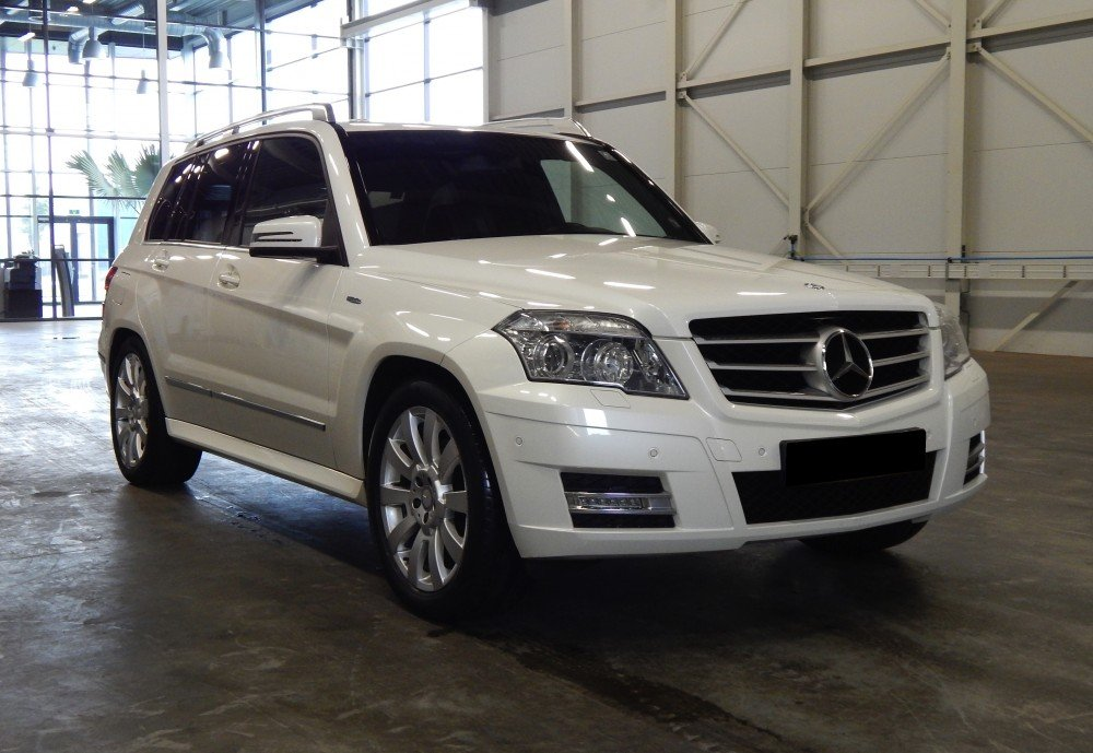 Peak Perfection auto detailing Mercedes GLK