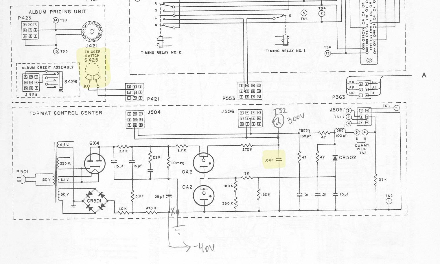 motor wiring diagram for seeburg 222