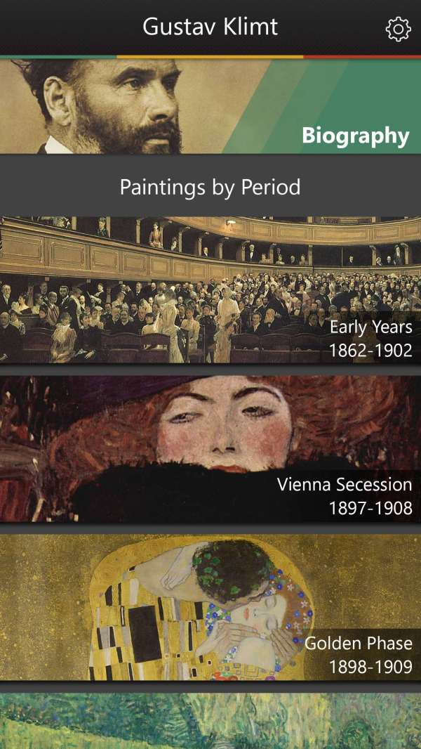 Gustav Klimt Virtual Museum Of Artwork