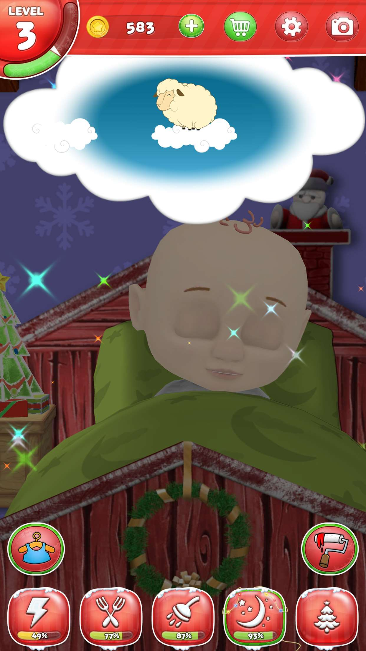 My Santa Claus A Virtual Friend Game For Android IPhone