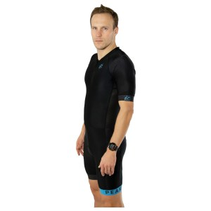 PEAKS Exclusive Trisuit with side pockets and sleeves men V2