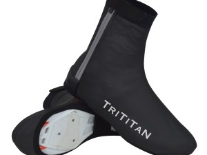 TriTiTan Professional Cycling Shoe Covers waterproof windproof reflective stripes