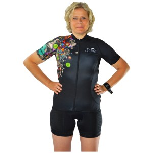 Jolie Pro Cycle Jersey Colorchaos
