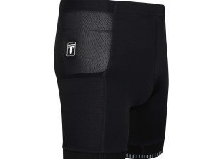TriTiTan pro running shorts with both sides pockets + reflective powerband