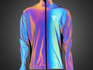 TriTiTan pro cycling reflective climate wind jacket