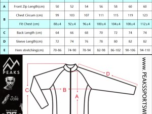 TRITITAN-TMI-WOLFPACK Long Sleeve Cycling Jersey with zipper for valuables
