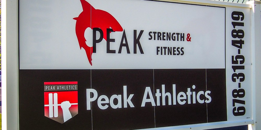 Peak Athletics and home of Crossfit Gwinnett