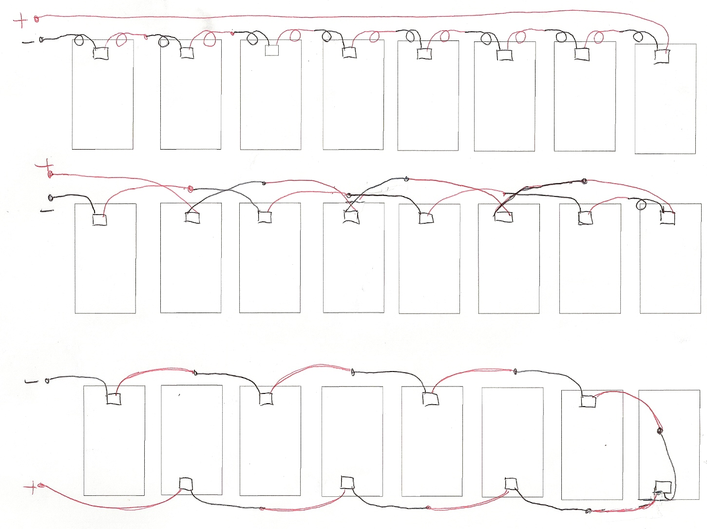 pv array wiring diagram cat5e a or b string 16 images