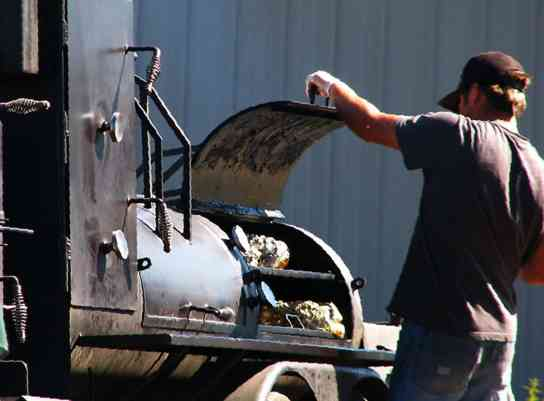 Getting your BBQ on with the Big Hole BBQ Catering Services