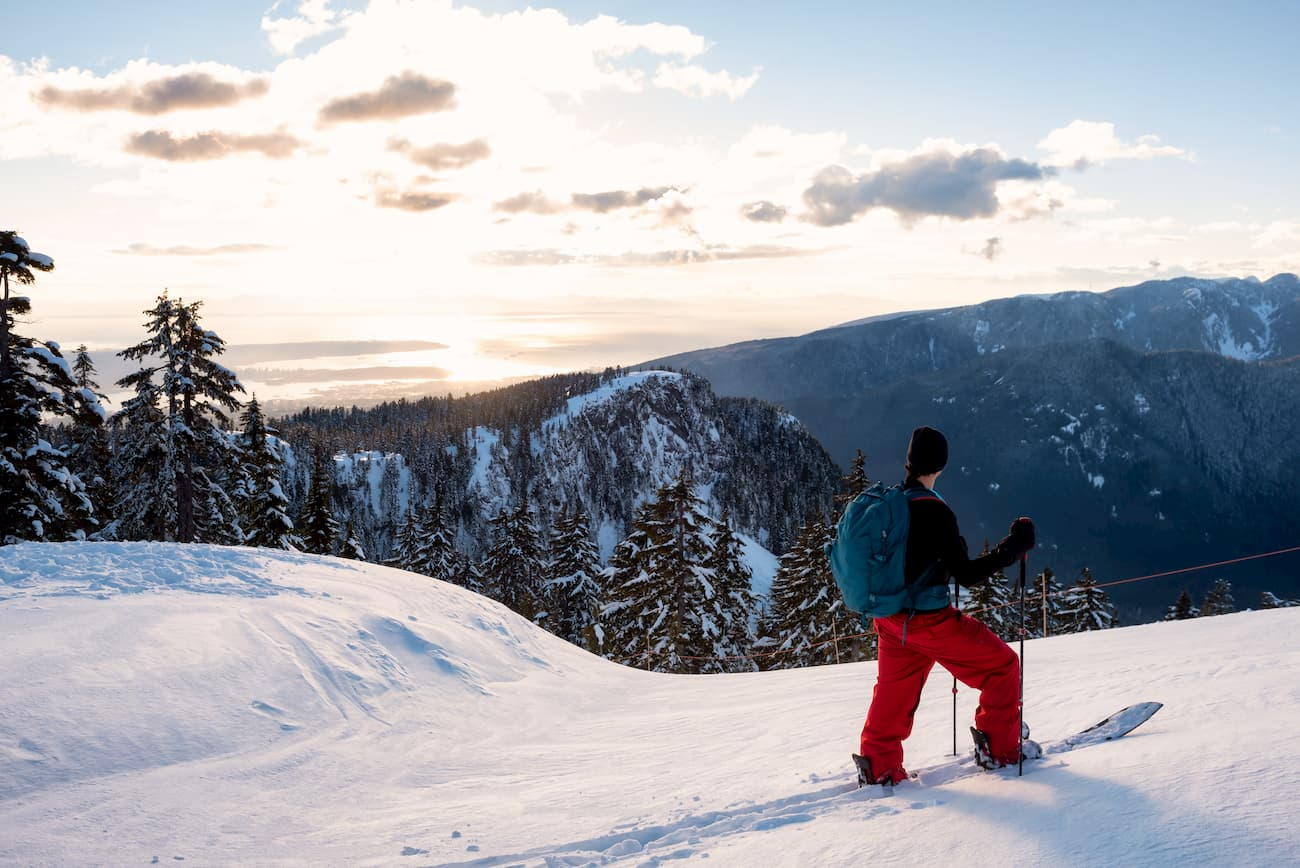 The park offers viewpoints overlooking the city of vancouver, mount baker and east over indian arm provincial park. Mount Seymour Provincial Park