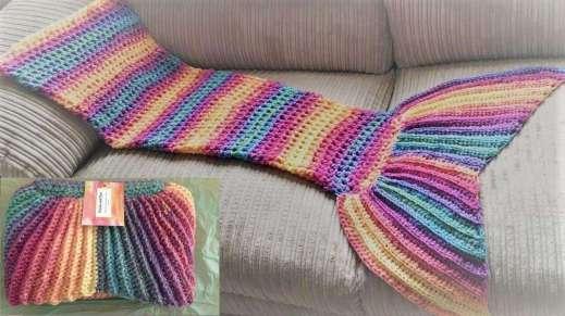 One Evening Crochet Mermaid Tail Blanket Pattern Cool Crochet Mermaid Tail Pattern Free