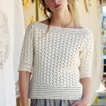Crochet Sweater Free Patterns Womens Clothing