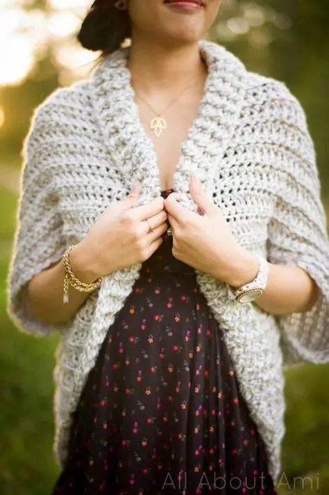Crochet Sweater Free Patterns Womens Clothing Peanut