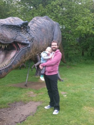 daddy and henry dino