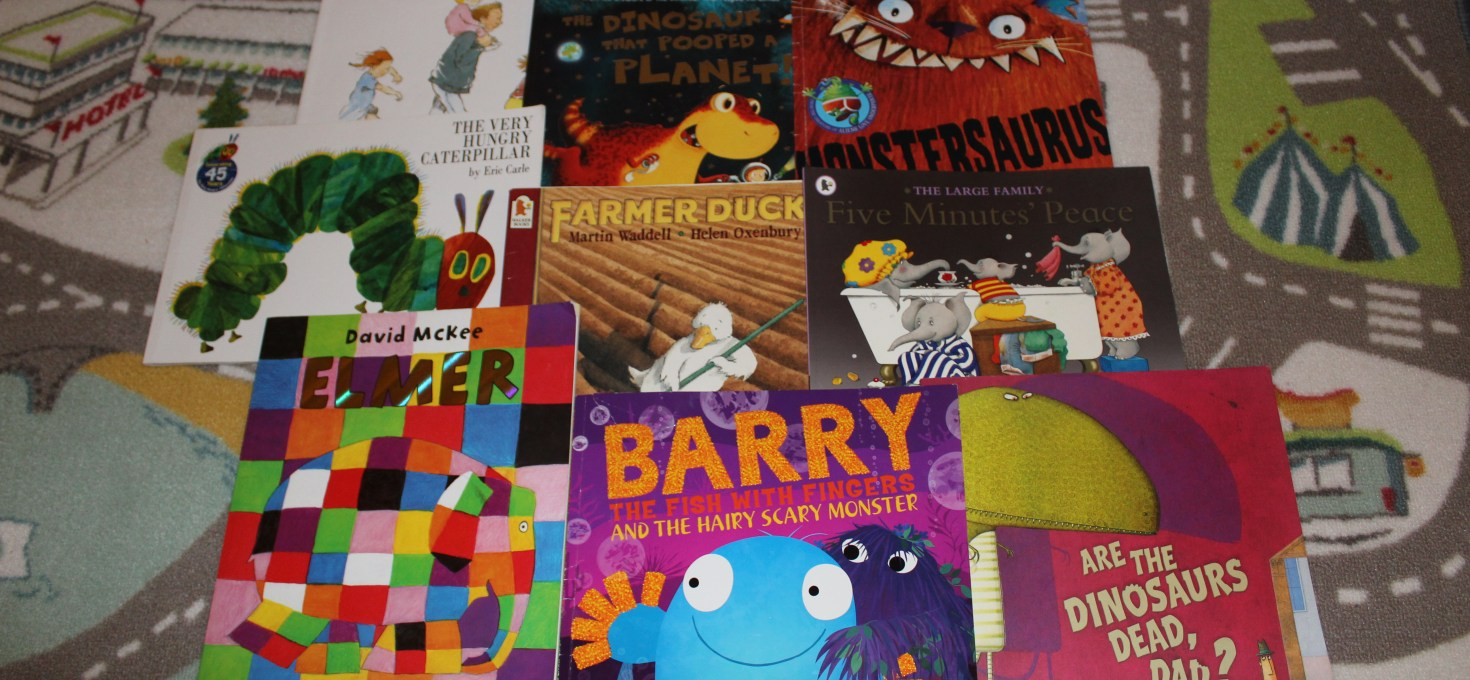 9 Books You NEED On Your Child's Bookcase