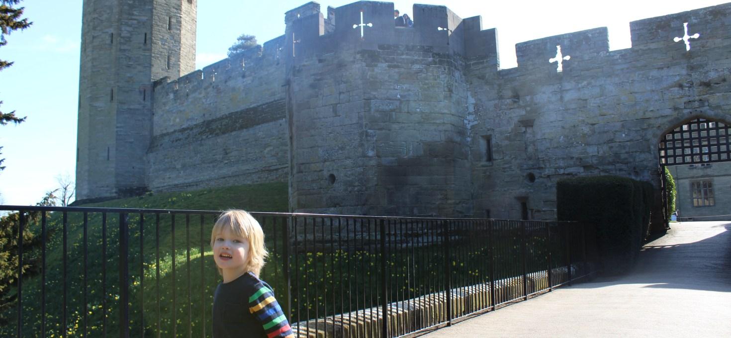 Exploring Warwick Castle