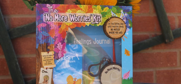 "Defusing a 4 year old meltdown with the ""No More Worries Kit"""