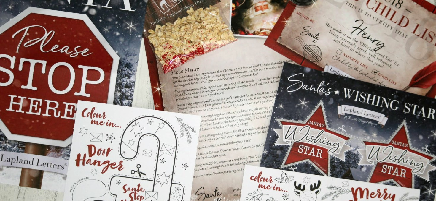 Sending your child some Christmas magic   Lapland Letters   AD