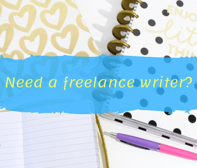 Need a freelance writer?